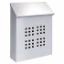 Residential Stainless Steel Mailbox Decorative Vertical Style