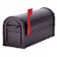 Residential Heavy Duty Rural Mailbox w/ 1/8 Inch Thick Extruded