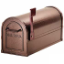 Residential Deluxe Rural Mailbox with 1/8 Inch Thick Extruded