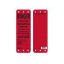 Master Lock S4700 Red Danger Do Not Use Scaffolding Tag