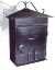Mailboxes large locking asian design home mailbox mbxslb002
