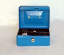 cash boxes: strong steel cash box blue