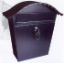 Mailboxes: large locking home rainproof vertical home mailbox