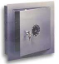 Sentry wall safes with 3-number combination keylock.