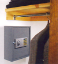Wall Safes: low price electronic hotel wall safe - wall mount pistol safe