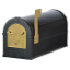 Residential Eagle Rural Mailbox with 1/8 Inch Thick Extruded