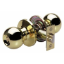 Master Lock BAO0103 Ball Knob Keyed Entry Door Hardware