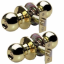 Master Lock BAO0103T Ball Knob Keyed Entry Door Hardware