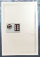 Wall Safe burglary resistant with electronic digital keypad and key lock