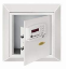Hotel Wall Safes - Digital keypad electronic hotel wall safe with card reader
